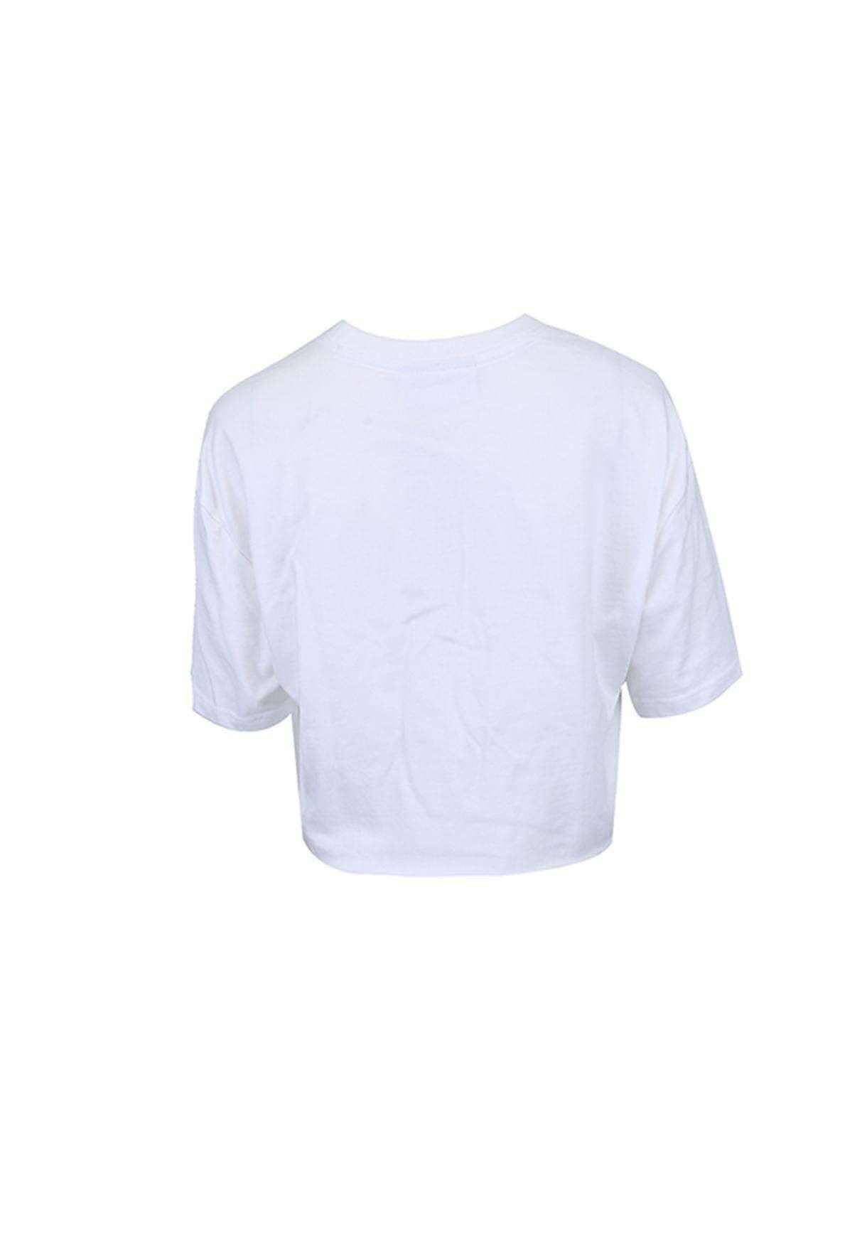 Cut hem tee T-Shirt